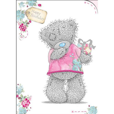 Pink Tshirt Birthday Me to You Bear Card  £1.60