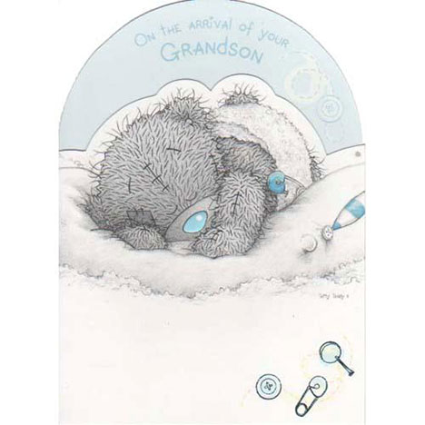 New Baby Grandson Me to You Bear Card  £1.80