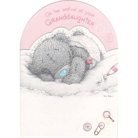 New Baby Granddaughter Me to You Bear Card  £1.80
