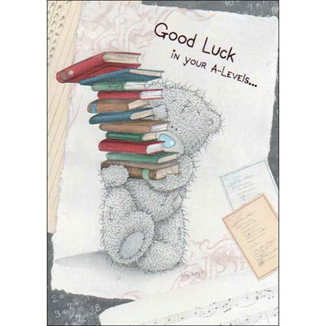 Good Luck in your A-Levels Me to You Bear Card  £1.60
