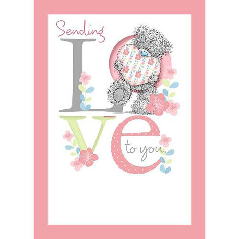Tatty Teddy with Heart Me to You Bear Birthday Card  £1.79