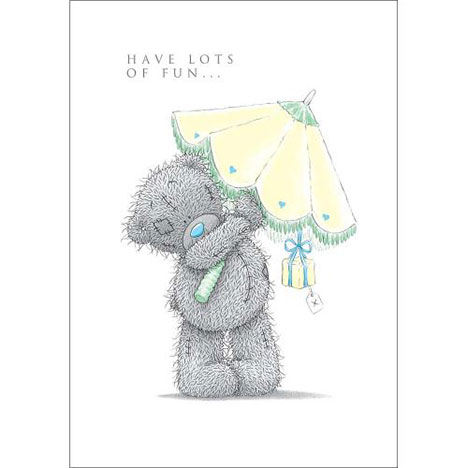 Tatty Teddy with Parasol Me to You Bear Birthday Card  £1.69