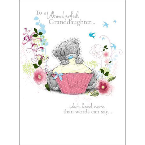 Wonderful Grandaughter Me to You Bear Birthday Card   £1.79