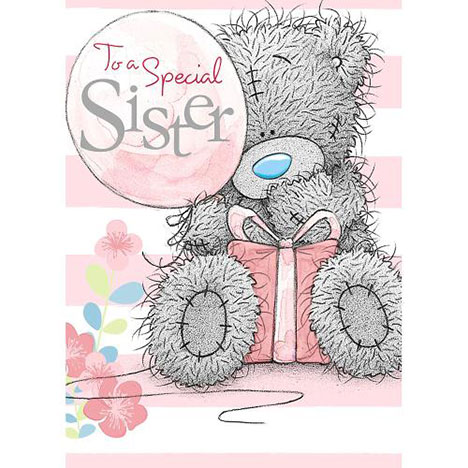 Sister Birthday Me to You Bear Card   £1.79
