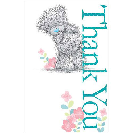 Thank You Me to You Bear Card   £1.79