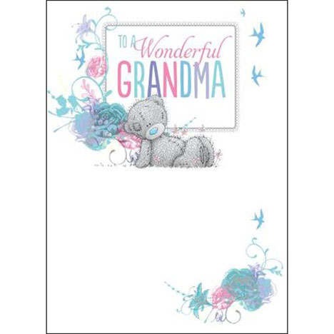 Grandma Birthday Me to You Bear Card  £1.79