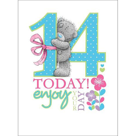 14th Birthday Me to You Bear Card  £1.79