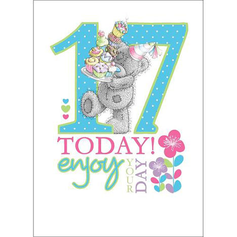 17th Birthday Me to You Bear Card  £1.79