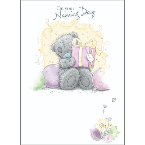 Babys Naming Day Me to You Bear Card  £1.79