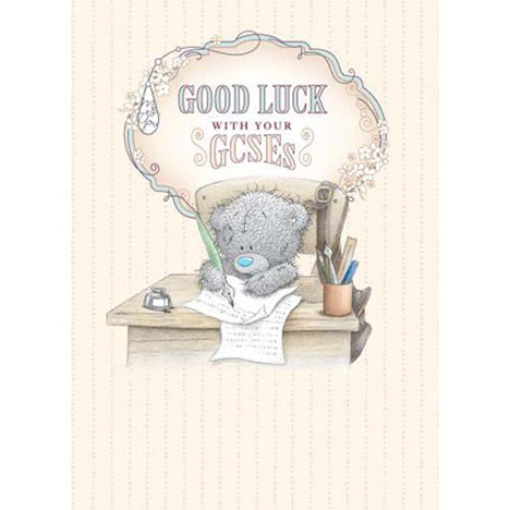 Good Luck With Your GCSEs Me to You Bear Card  £1.79