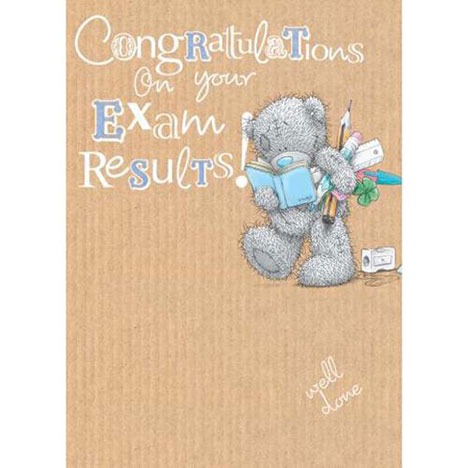 Exam Results Congratulations Me to You Bear Card   £1.79
