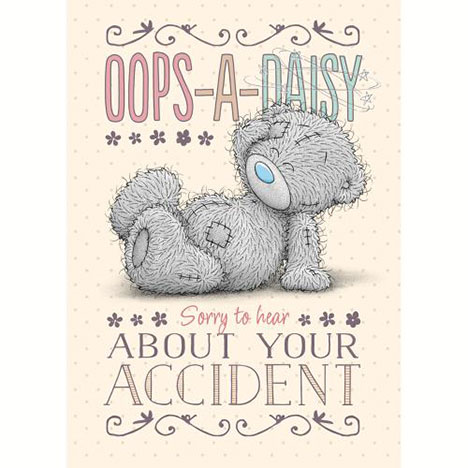 Get Well Soon After Accident Me to You Bear Card  £1.79