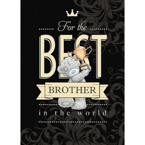 Brother Birthday Me to You Bear Card  £1.79