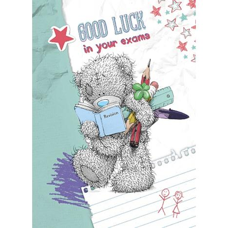 Good Luck in Exams Me to You Bear Card  £1.49