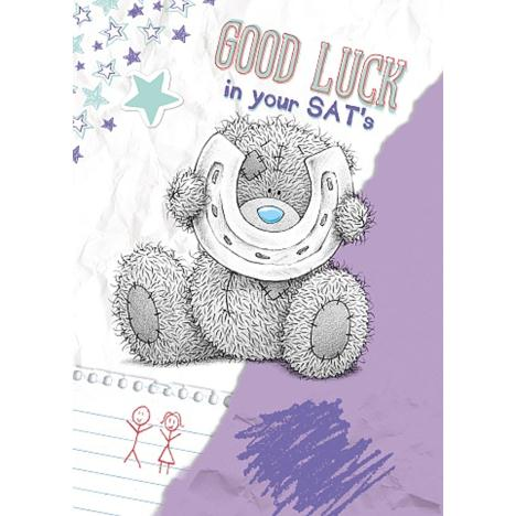 Good Luck in SATs Me to You Bear Card  £1.49