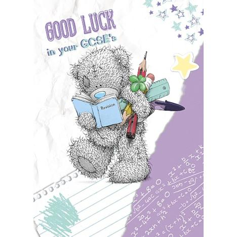 Good Luck in GCSEs Me to You Bear Card  £1.49