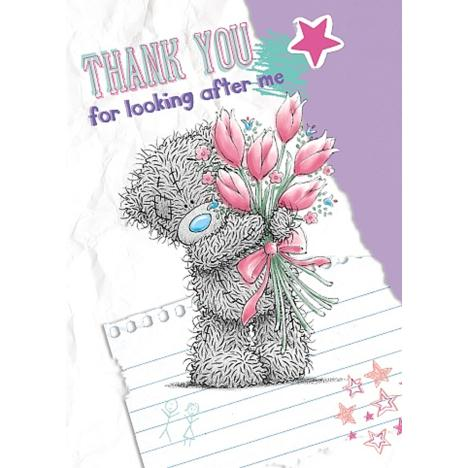 Thank You For Looking After Me Me to You Bear Card  £1.49