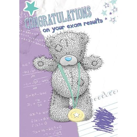 Exam Results Congratulations Me to You Bear Card  £1.49