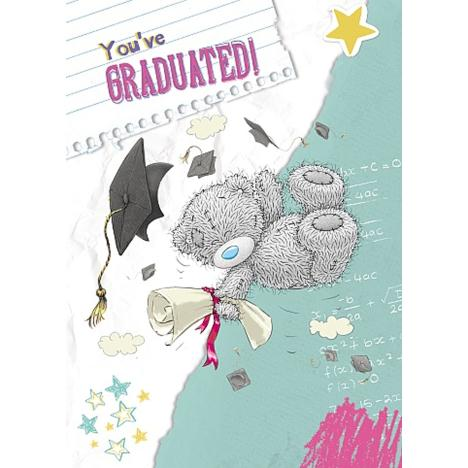 You Have Graduated Me to You Bear Graduation Card  £1.49