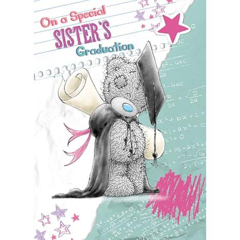 Sister Graduation Me to You Bear Card  £1.79