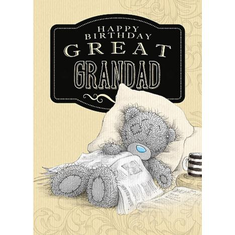 Great Grandad Me to You Bear Birthday Card  £1.79