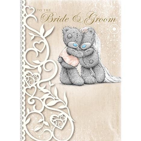 Bride & Groom Wedding Day Me to You Bear Card  £1.79