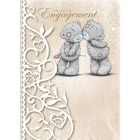 On Your Engagement Me to You Bear Card  £1.79