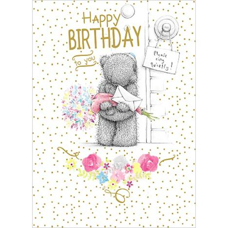 Happy Birthday Surprise Me to You Bear Card  £1.79