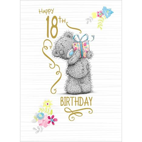 18th Birthday Me to You Bear Card  £1.79