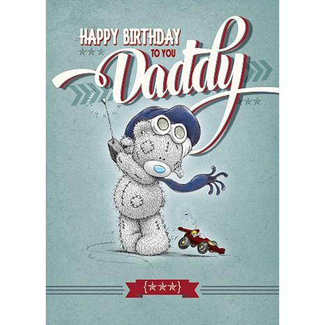 Daddy Birthday Me to You Bear Card  £1.79