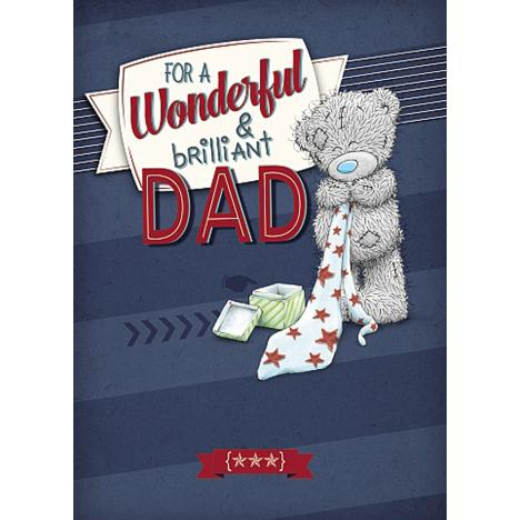 Wonderful Dad Me to You Bear Birthday Card  £1.79