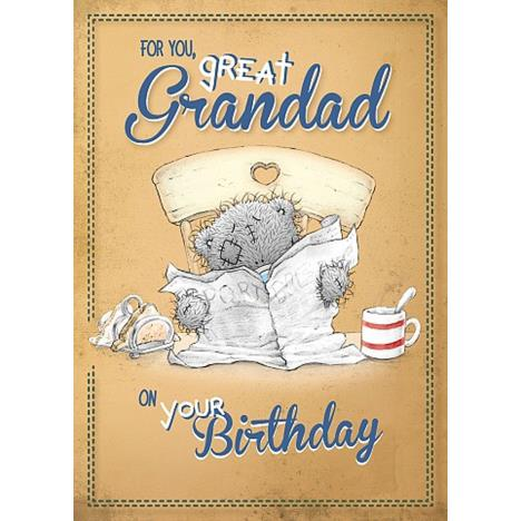 Great Grandad Birthday Me to You Bear Card  £1.79