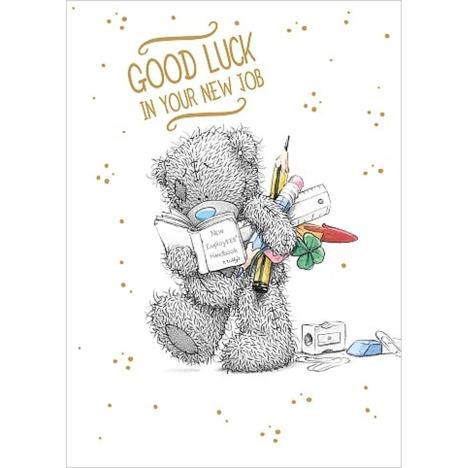 Good Luck New Job Me to You Bear Card  £1.79