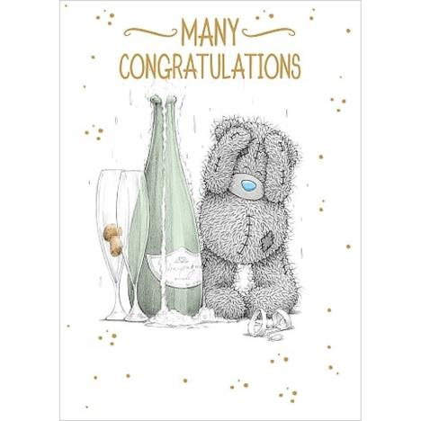 Many Congratulations Me to You Bear Card  £1.79