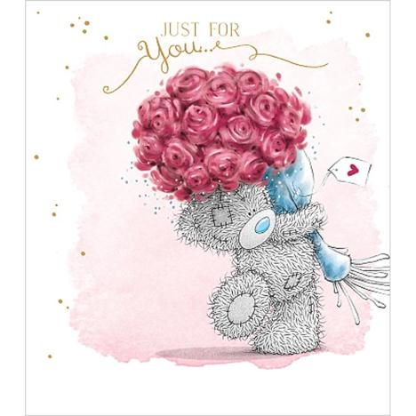 Just For You Bouquet Me to You Bear Card  £2.19