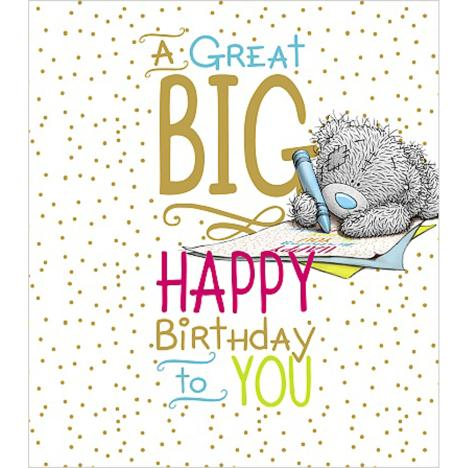 Big Happy Birthday Me to You Bear Card  £2.19