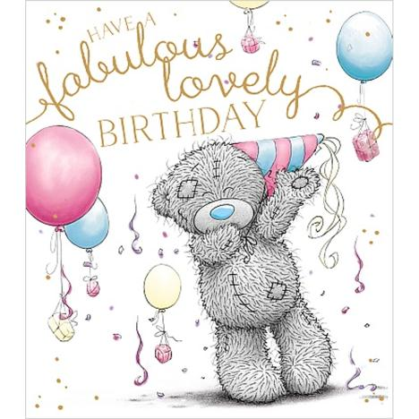 Fabulous Lovely Birthday Me to You Bear Card  £1.89