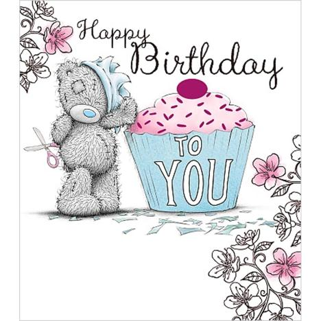 Happy Birthday To You Cupcake Me to You Bear Card  £1.89