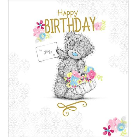 Happy Birthday To You Me to You Bear Card (A01US030) : Me ...