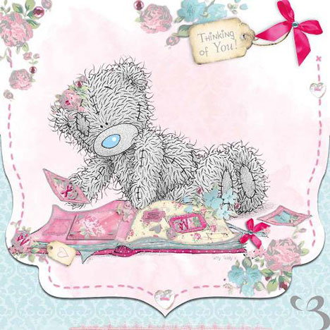 Thinking of You Me to You Bear Card  £1.95
