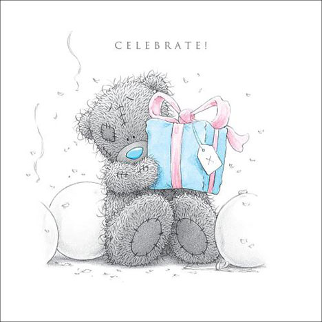 Celebrate Me to You Bear Birthday Card  £2.09