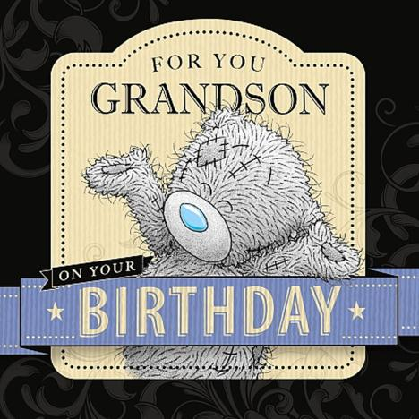 Grandson Birthday Me to You Bear Card  £2.09