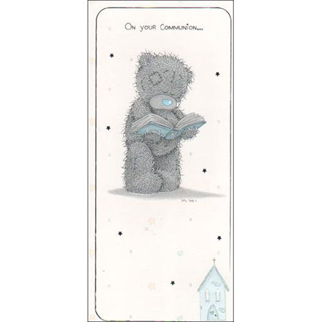 Communion Me to You Bear Card  £1.70