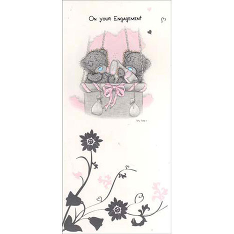 On Your Engagement Me to You Bear Card  £1.70