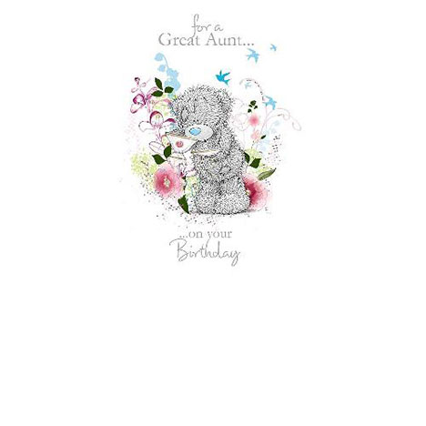 Great Aunt Birthday Me to You Bear Card  £1.89