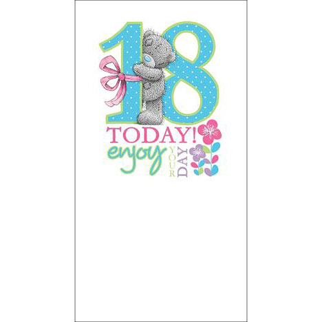 18th Birthday Me to You Bear Card  £1.89