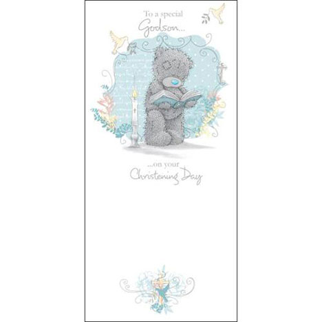 Godson Christening Day Me to You Bear Card  £1.89
