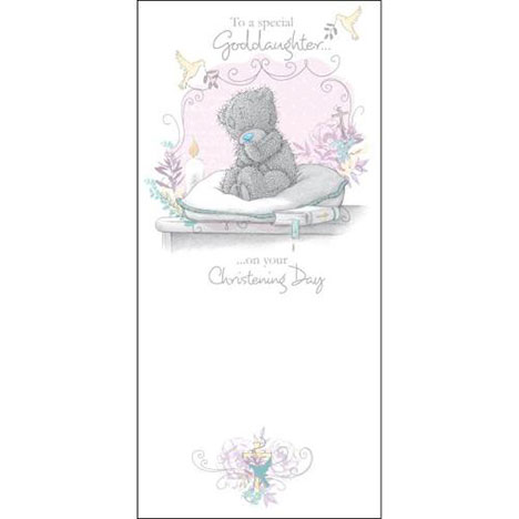 Goddaughter Christening Day Me to You Bear Card  £1.89