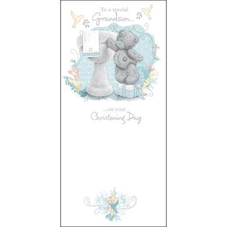 Grandson Christening Day Me to You Bear Card  £1.89