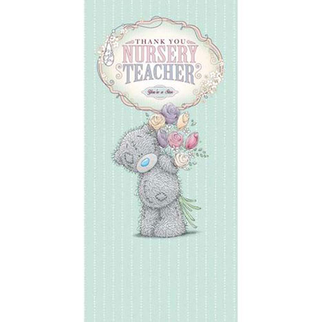 Thank You Nursery Teacher Me to You Bear Card  £1.89
